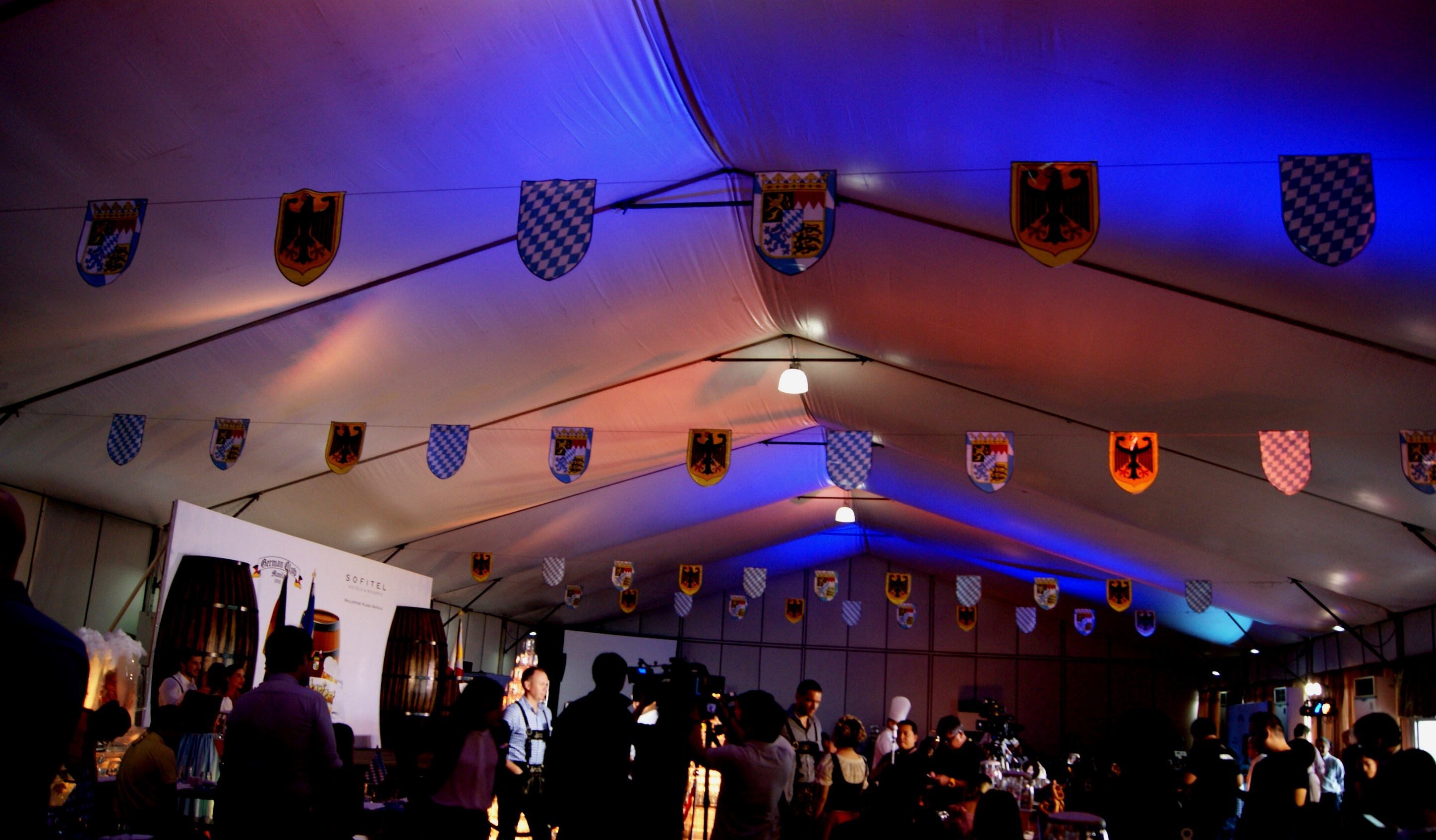 Harbor Tent View Photo by @catchingcarla ... & Hereu0027s what to expect from this yearu0027s Oktoberfest! u2013 What To Eat PH