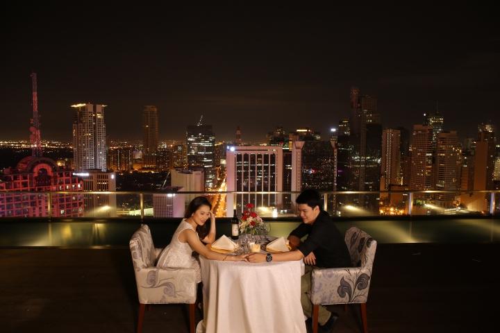 Dinner at Terrace 33