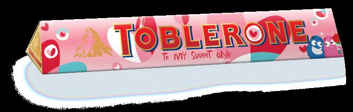 Toblerone 200G Sleeve designed by Googly Gooeys