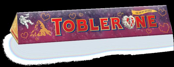 Toblerone 360G Sleeve Designed by June Digan