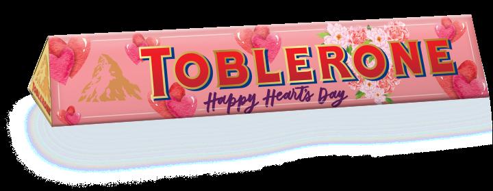 Toblerone Milk Chocolate Sleeve designed by Anina Rubio 100G