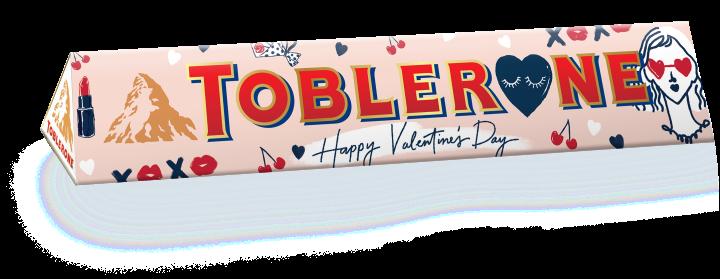 Toblerone White Chocolate Sleeve designed by Soleil Ignacio