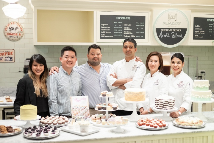 The M Bakery Team in Manila