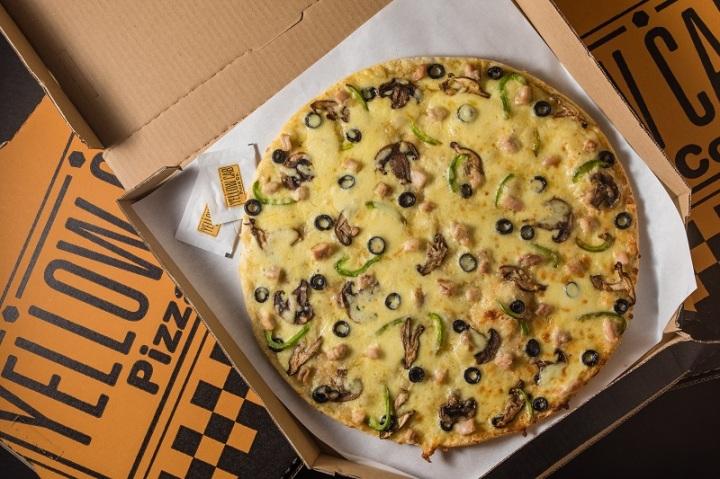 Bronx Creamy Mushroom Pizza