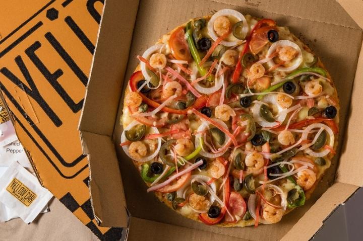 Brooklyn Spicy Seafood Pizza
