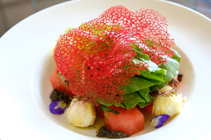 Great at 8 - Chef's Specials_Compressed Watermelon Salad